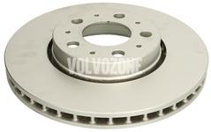Predný brzdový kotúč (285,5mm) P2 S60/S80/V70 II/XC70 II