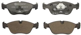 Predné brzdové platničky (280mm kotúč) P80 C70/S70/V70(XC)