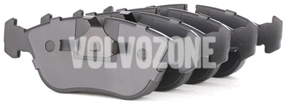Predné brzdové platničky (302mm kotúč) P80 C70/S70/V70(XC)