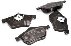 Predné brzdové platničky (320mm kotúč) P80 C70/S70/V70(XC) R line
