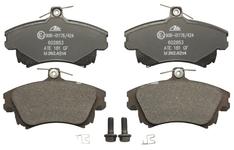 Predné brzdové platničky (281mm kotúč) S40/V40 (1998-)