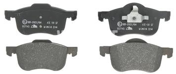 Predné brzdové platničky (285,5/305mm kotúč) P2 S60/S80/V70 II/XC70 II