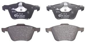 Predné brzdové platničky (320mm kotúč) P2 S60/S80/V70 II/XC70 II