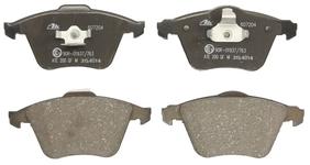 Predné brzdové platničky (320mm kotúč) P1 C70 II/S40 II/V40 II(XC)/V50