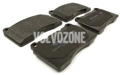 Zadné brzdové platničky (330mm kotúč) P2 S60R/V70R II (System Brembo)