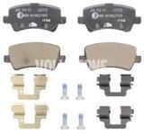 Zadné brzdové platničky (elektrická parkovacia brzda)(plný kotúč) P3 S80 II/V70 III/XC70 III
