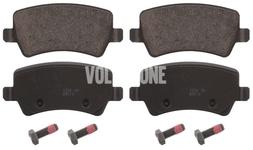 Zadné brzdové platničky (elektrická parkovacia brzda)(plný kotúč) P3 S60 II(XC)/V60(XC)