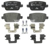 Zadné brzdové platničky (manuálna parkovacia brzda)(plný kotúč) P3 S80 II/V70 III/XC70 III