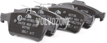 Zadné brzdové platničky (280mm kotúč) P1 C30/C70 II/S40 II/V50