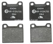 Zadné brzdové platničky (295mm kotúč) P80 C70/S70/V70 bez AWD
