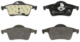 Zadné brzdové platničky (288mm kotúč) P80 S70/V70(XC) s AWD (nový typ), P2 S60/S80/V70 II/XC70 II