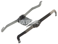 Príslušenstvo predných brzdových platničiek (320mm kotúč) P1 C30/C70 II/S40 II/V40 II(XC)/V50