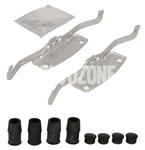 Príslušenstvo predných brzdových platničiek (316/336mm kotúč) P3 S60 II(XC)/V60(XC) S80 II/V70 III/XC70 III
