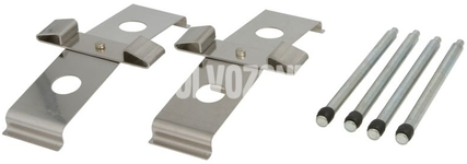 Príslušenstvo predných brzdových platničiek P2 S60R/V70R II (systém Brembo)