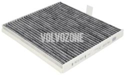 Kabínový filter S40/V40 (pre vozy s klimatizáciou)(uhlíkový)