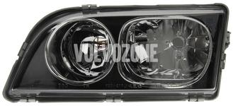 Svetlomet ľavý duálny S40/V40 (2003-) čierny