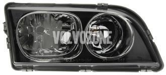 Svetlomet pravý duálny S40/V40 (2003-) čierny