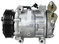 Kompresor klimatizácie P1 1.6D C30/S40 II/V50, P3 1.6D, 1.6D2 S80 II/V70 III (starý typ) S60 II/V60 (stredný typ)
