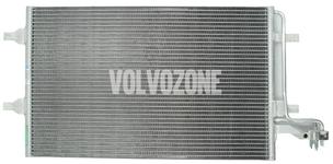 Kondenzátor klimatizácie 4 valce P1 C30/C70 II/S40 II/V50 (nový typ)