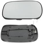 Sklo pravého spätného zrkadla P2 (-2006) XC70 II (manuálne sklápatelné)/XC90 strana spolujazdca