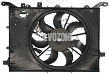 Ventilátor chladiča motora P2 (-2003) S60/S80/V70 II/XC70 II