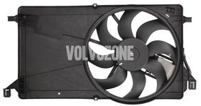 Ventilátor chladiča motora 1.6D/D2, 1.8/2.0 (manuálne prevodovky) P1 C30/S40 II/V50