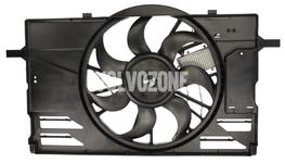 Ventilátor chladiča motora 2.4/T5 P1 C30/C70 II/S40 II/V50