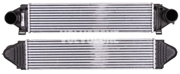 Chladič plniaceho vzduchu 5 valce 2.0 D3/D4, 2.4D/D5, 4 valec 2.0T/T5 (-2014), 3.0 T6 P1 P3