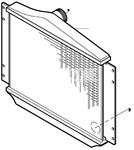 Chladič plniaceho vzduchu benzín/diesel P80 C70/S70/V70(XC)