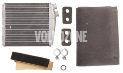 Výmenník tepla vnútorného (radiátor) kúrenia P3 S60 II(XC)/V60(XC)/XC60 S80 II/V70 III/XC70 III