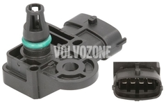 Snímač plniaceho tlaku P1 P3 SPA/CMA (2014-) 2.0 D2/D3/D4/D5, P3 2.0 T Polestar/T5 V60 XC bez AWD