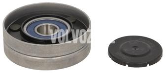 Napínacia kladka na napínaku drážkového remeňa benzín P80 (-1998), X40 (-1999)
