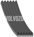 Drážkový remeň 1.6/1.8/2.0(T)/T4 (-1999) S40/V40 1750mm pre vozidlá s klimatizáciou (starý typ)