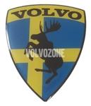 Živicová nálepka Los Volvo - Švédska vlajka