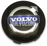 Stredová krytka kolesa (64mm) čierna nový design