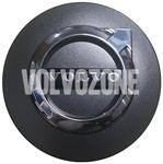 Stredová krytka kolesa (64mm) grafitová, chróm