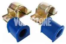 Silentbloky predného stabilizátora 21-23mm P2 S60/S80/V70 II/XC70 II polyuretán