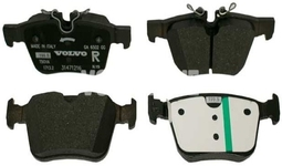 Zadné brzdové platničky (320/340mm) SPA S60 III/V60 II(XC) S90 II/V90 II(XC) XC60 II/XC90 II Variant code RC01