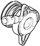 Vypínacie ložisko spojky M76 3-4 valec P1/SPA/CMA