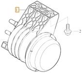 Palivový filter 4 valec diesel SPA XC40