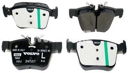 Zadné brzdové platničky (320/340mm) SPA S60 III/V60 II(XC) S90 II/V90 II(XC) XC60 II/XC90 II Variant code RC02