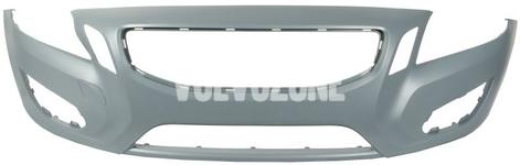 Predný nárazník bez otvorov na ostrekovače P3 (-2013) S60 II/V60