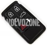 Náhradné tlačítka púzdra diaľkového ovládania P3 S60 II(XC)/V60(XC)/XC60 S80 II/V70 III/XC70 III - 6 tlačítkové