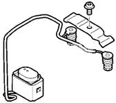 Snímač teploty palivového nezávislého kúrenia S60 II(XC)/V60(XC)/XC60 S80 II/V70 III/XC70 III