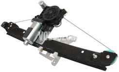 Mechanizmus sťahovania zadného ľavého okna P2 S60/S80/V70 II/XC70 II s elektromotorom, strana za vodičom