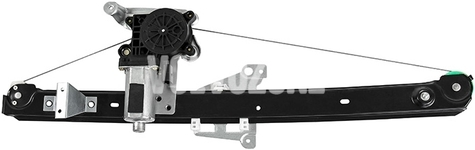 Mechanizmus sťahovania zadného ľavého okna P2 XC90 s elektromotorom, strana za spolujazdcom