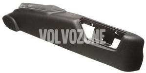 Bočný kryt sedadla spolujazdca P2 (2005-) S60/S80/V70 II/XC70 II/XC90 el. ovládanie, farba čierno-sivá