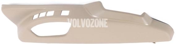 Bočný kryt sedadla vodiča P3 XC60 (-2011), (-2014) S80 II/V70 III/XC70 III el. ovládanie, man. nastavenie podpory bedier, farba béžová