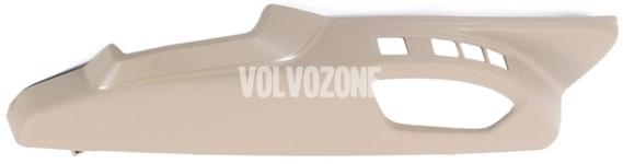 Bočný kryt sedadla spolujazdca P3 XC60 (-2011), (-2014) S80 II/V70 III/XC70 III el. ovládanie, man. nastavenie podpory bedier, farba béžová