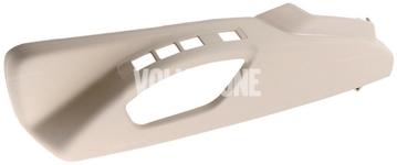 Bočný kryt sedadla vodiča P3 S60 II(XC)/V60(XC), XC60 (2011-), (2015-) S80 II/V70 III/XC70 III el. ovládanie, man. nastavenie podpory bedier, farba béžová